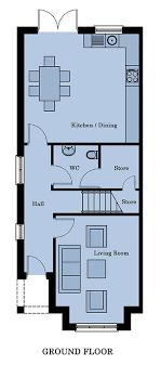 semi detached floor plans 4 bedroom semi detached floor plans