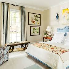 bedroom window treatments southern living the southern living idea house by bunny williams