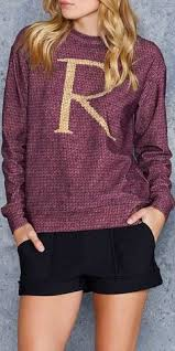 r for ron sweater from universal orlando harry potter