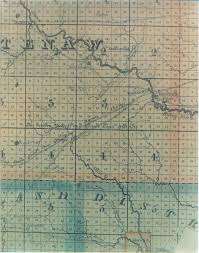 Map Of Southeast Michigan by Pittsfield Township Historical Society Orange Risdon U0027s Map Of 1825