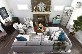 modern country living room my home style before and after modern boho country living modern
