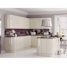 best 25 cream gloss kitchen ideas on pinterest cream kitchen