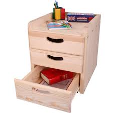 wooden meubles wooden office unit 3 drawer woodland meubles pour