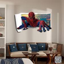 aliexpress com buy avengers amazingspiderman wall stickers 3d