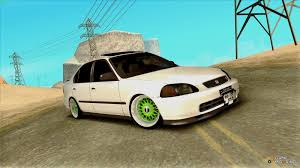 jdm cars honda civic jdm for gta san andreas