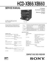 sony hcd xb66 compact cassette analog to digital converter