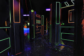 image result for glow in the dark paint haunted house good robot