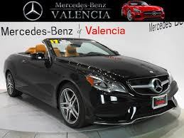mercedes e class cabriolet for sale used 2017 mercedes e class e 550 for sale in santa clarita