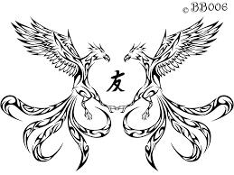 tribal phoenix tattoo by blackbutterfly006 on deviantart