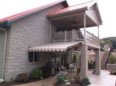 Commercial Retractable Awnings Sunsetter Motorized Retractable Awnings Backyard Pinterest