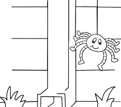 itsy bitsy spider coloring pages kids coloring europe travel