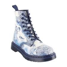 doc martens womens boots nz pascal 8 eye boot willow suede white navy brand dr
