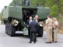 amphibious car defense contractor saic hopes the marines u0027 next amphibious vehicle