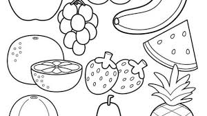 healthy food coloring pages preschool healthy food coloring pages coloring book prixducommerce com