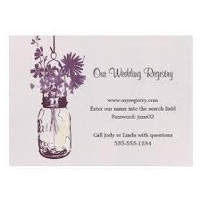 wedding registry cards wedding business cards wedding registry card jar