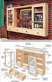 Woodworking Garage Cabinets Garage Cabinets Plans Do Yourself Awesome Building Archive The