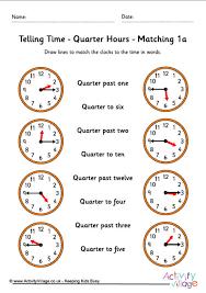 general telling time worksheets worksheetkid