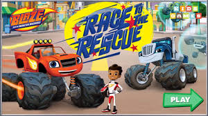 play online monster truck racing games nickelodeon games to play online 2017 blaze race to the rescue