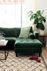 Home Room Interior Design by Best 25 Green Sofa Ideas On Pinterest Green Living Room Sofas