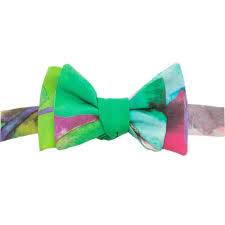 floral bowtie watercolor floral bowtie the house of perna