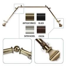 bay window 1 inch adjustable rod set free shipping