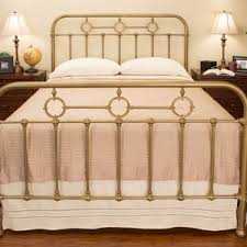 brass king size beds you u0027ll love wayfair