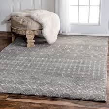 nuloom geometric moroccan beads dark grey rug 9 u0027 x 12 u0027 dark