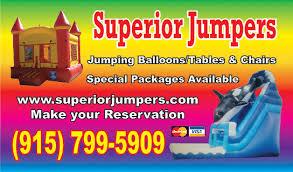 balloon delivery el paso tx party jumpers water slides el paso