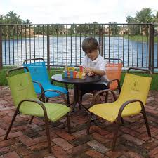 Children Patio Furniture by Lifetime Products Kids Folding Picnic Table Almond Hayneedle