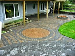 patio stamped concrete ideas home and garden design like the