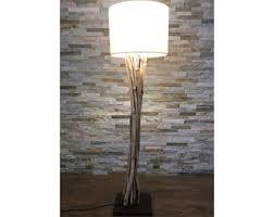 wood floor lamp etsy