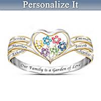 personalized rings for mothers rings family jewelry bradford exchange
