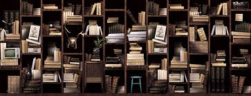 furniture archaiccomely bookshelf page black and white faux