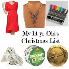 this is my 14 year s list