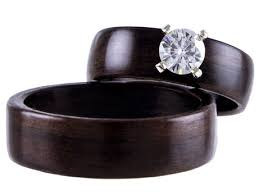 non metal wedding bands 17 best images about wedding bands bentwood rings and more on for