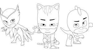 owlette pj masks coloring games coloring games