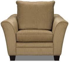 allen chenille chair u2013 taupe the brick