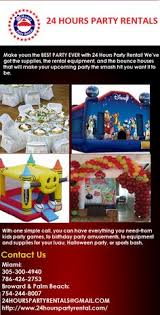 party rentals broward pin by 24 hours party rentals on bounce house rental broward miami