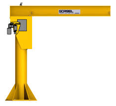 floor mounted jib crane free standing jib crane