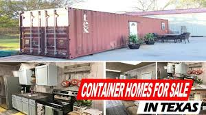 look inside container homes for sale in texas youtube