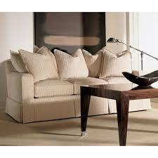 Henredon Settee Henredon Fireside Upholstery Customizable Sofa With Track Arms And