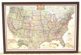 us map framed us maps framed