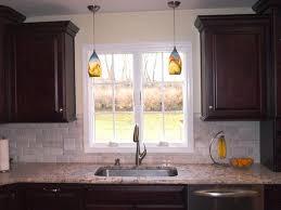 glass pendant lighting for kitchen kitchen cute pendant lighting over sink kitchen yellow glass