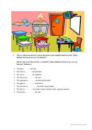 254 free esl furniture worksheets