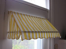 awning window treatments ready made indoor awning curtain fits windows 26 to 36 wide