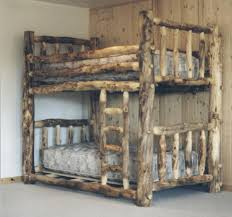Log Bunk Beds At Highcountryfurniturecom - King size bunk beds