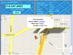 find location of phone number on map trace the geographical location of phone number us and canada