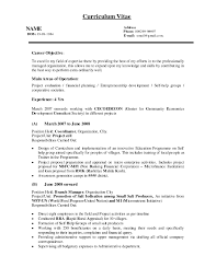 Real Estate Resumes Career Objective For Real Estate Resume Free Resume Example And