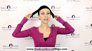 wig grips for women that have hair wig grip band by godiva s secret wigs youtube