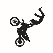 freestyle motocross wallpaper freestyle motocross wall stickers motocycle decal boy vinyl sport